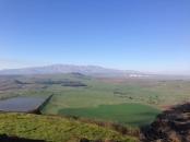 Facing to Mount Hermon